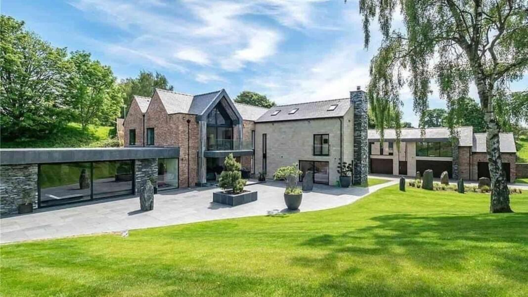Cristiano Ronaldo's new mansion in Cheshire