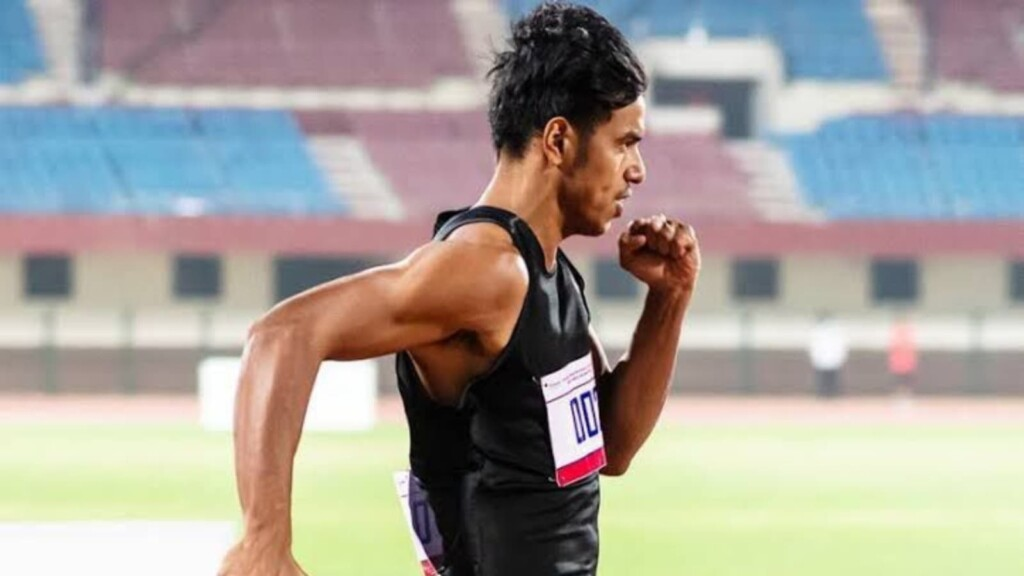 2021 National Athletics Championships: Amlan Borgohain