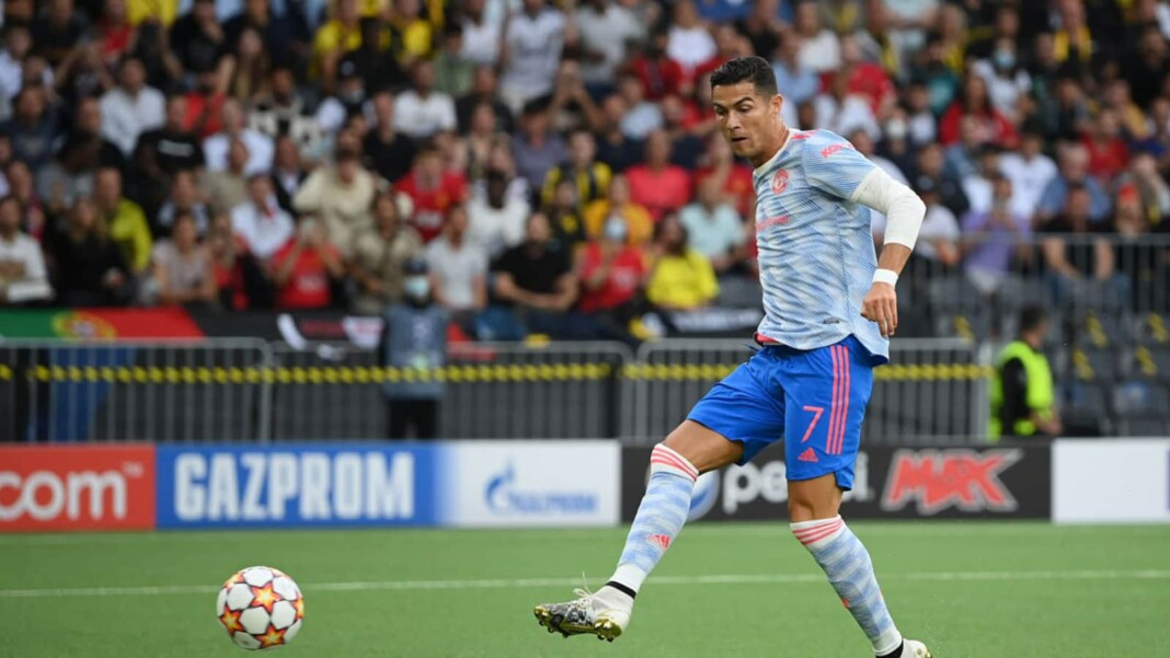 Cristiano Ronaldo's Champions League goal against Young Boys