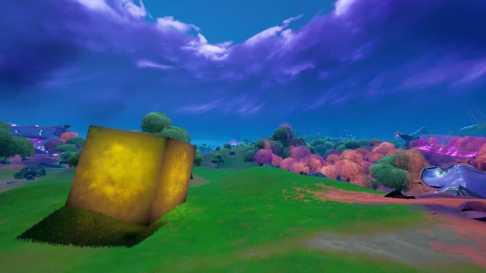 Fortnite Gold Cube Location and its Travel Path in Season 8