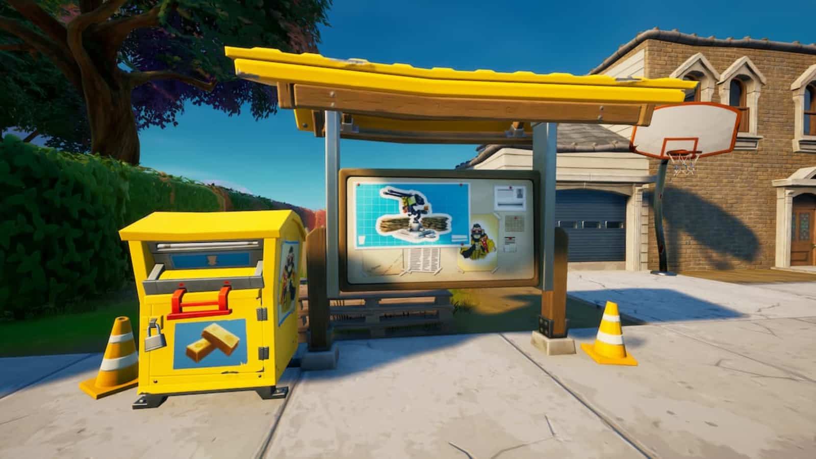 Fortnite War Effort Donation Box Locations: How to Spend Bars