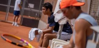 Daniel Rincon and Rafael Nadal