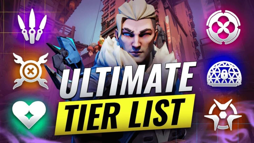 Valorant Ultimate Ability Tier List for Patch 3.06