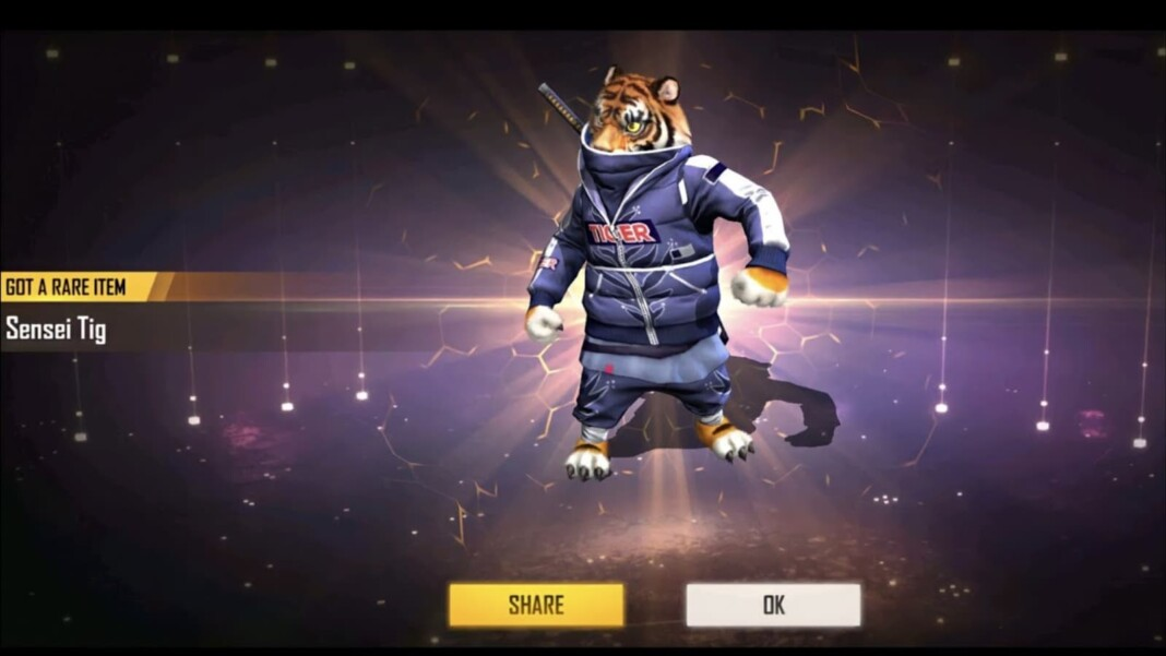 free fire sensei tig pet ability