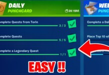 New Fortnite Punchcard Quests in Season 8 for Massive XP