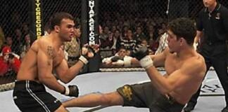 Nick Diaz vs Robbie Lawler 1 at UFC 47