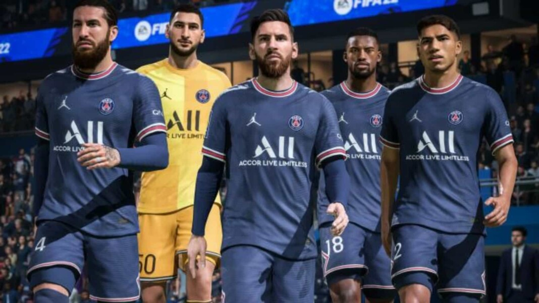 PSG FIFA 22 player ratings