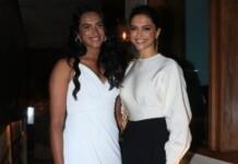 PV Sindhu and Deepika Padukone