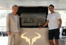 Rafael Nadal and Nico Rosberg