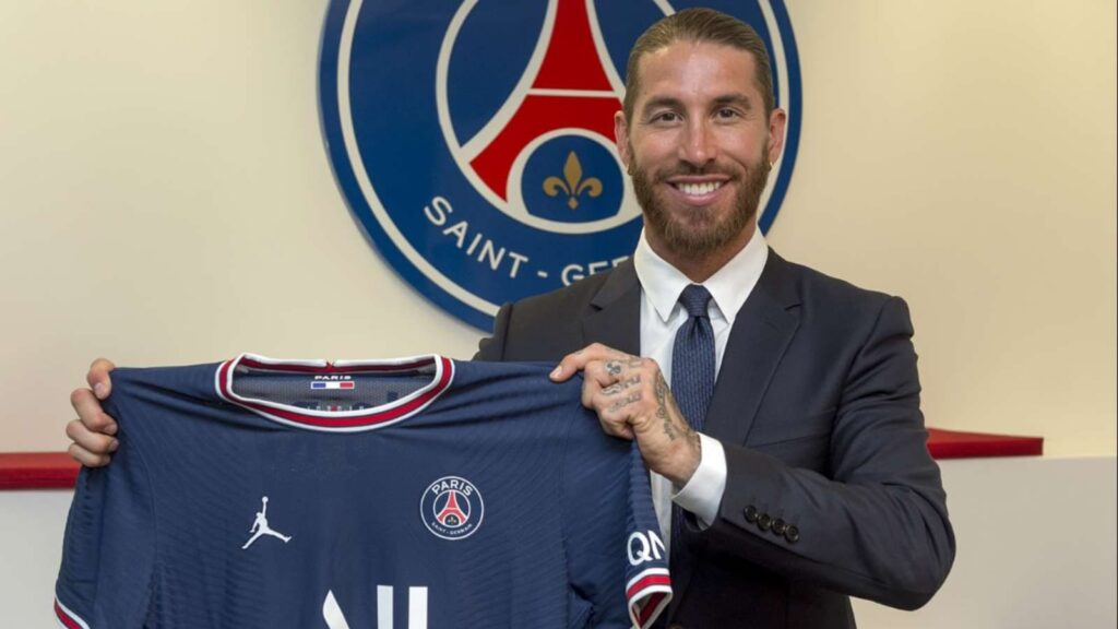 Ramos signing for PSG - FirstSportz