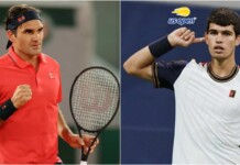 Roger Federer and Carlos Alcaraz - the oldest and the youngest players in the Top-100 in ATP Rankings