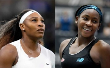 Serena Williams and Coco Gauff - the oldest and youngest players in the Top-100 of the WTA Rankings