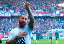 Sergio Ramos at Paris-Saint Germain