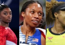 Simone Biles, Allyson Felix and Naomi Osaka Time's 100 most influential people list
