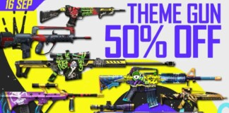 Theme Guns in Free Fire