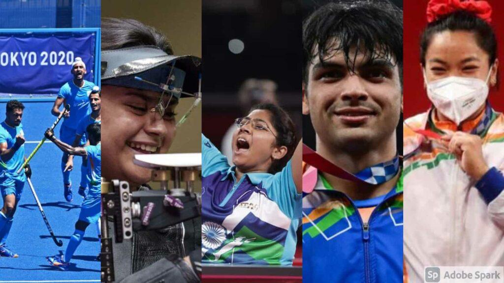 Tokyo 2020 medal winners - FirstSportz