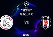UEFA Champions League: Ajax vs Beşiktaş Live Stream
