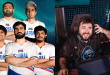Shinobi is the Coach of Global Esports for Valorant APAC Last Chance Qualifiers