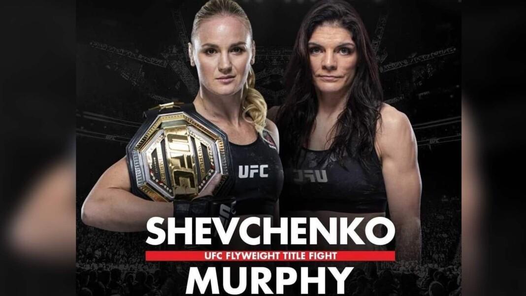 Valentina Shevchenko vs Lauren Murphy Prediction