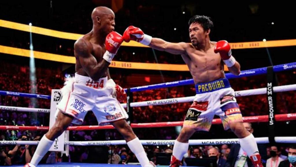 Yordenis Ugas vs Manny Pacquiao