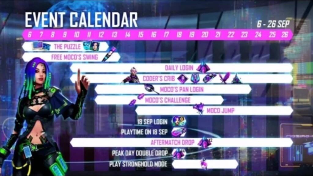 Elite Moco Event Calendar