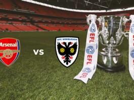 EFL Cup : Arsenal vs AFC Wimbledon Live Stream