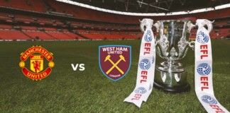 EFL Cup : Manchester United vs West Ham Live Stream