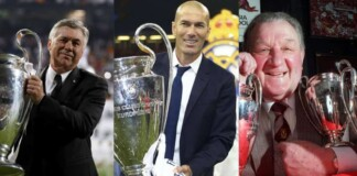 managers have won the most Champions League titles