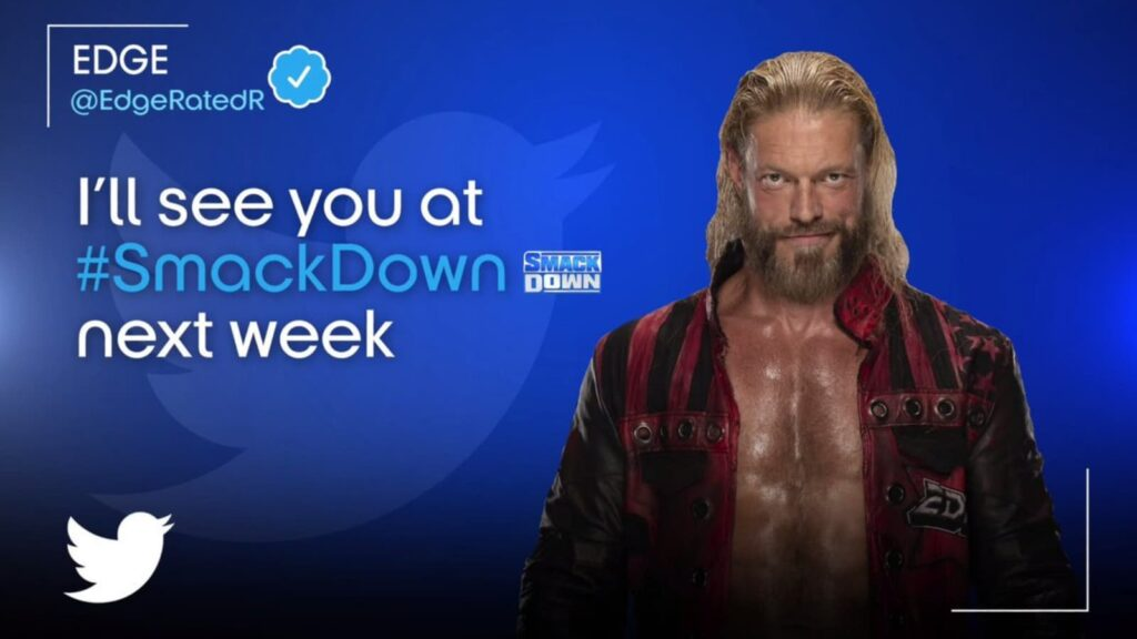 Edge will return on the first day of WWE Draft 2021