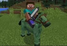 Zombie Horse in Minecraft