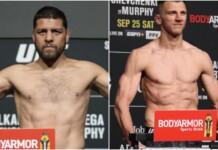 UFC 266 weigh-ins