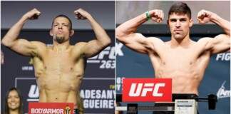 Nate Diaz and Vicente Luque