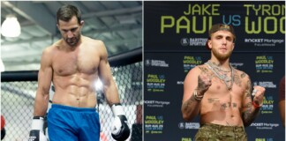 Luke Rockhold and Jake Paul