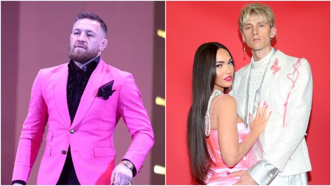 Conor McGregor, Megan Fox and Machine Gun Kelly