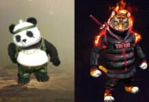 Sensei Tig vs Detective Panda In Free Fire