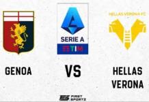 Serie A: Genoa vs Hellas Verona Live Stream