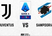Serie A : Juventus vs Sampdoria Live Stream
