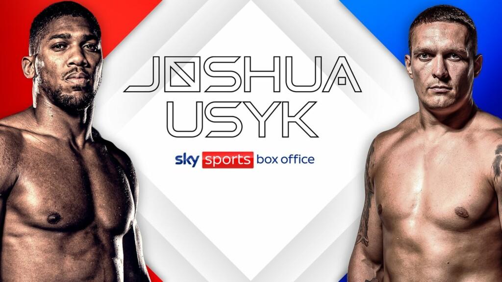 Anthony Joshua vs Oleksandr Usyk