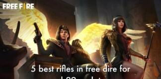 Best Rifles in Free Fire