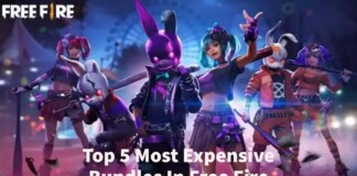 Top 5 Most Expensive Bundles In Free Fire