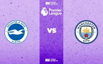 Brighton and Hove Albion vs Manchester City