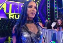 Sasha Banks returned to WWE at Extreme Rules 2021