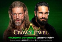 Seth Rollins vs Edge to feature inside Hell in a Cell at Crown Jewel 2021