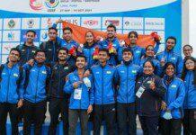 Indian team at ISSF World Juniors