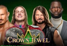 Raw Tag Team Championship match for Crown jewel 2021