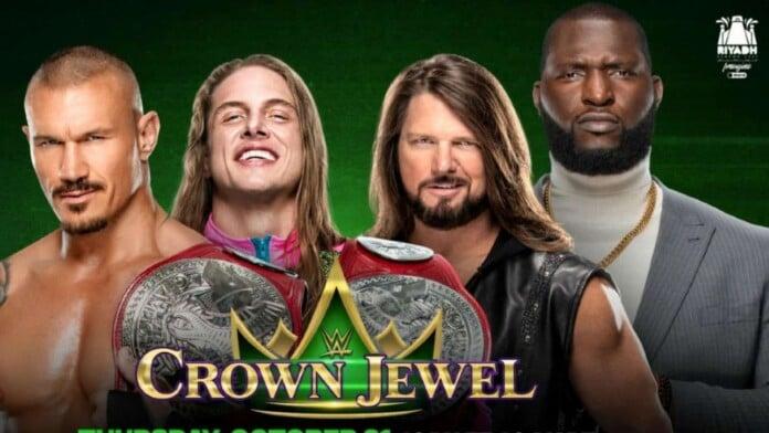 Watch WWE Crown Jewel 2021 10/21/21