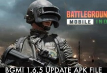 BGMI 1.6.5 update probable APK file size for Android devices