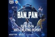 PUBG Mobile Ban Pan: The anti cheat system bans 1,338,074 accounts this week