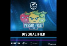 PUBG Mobile team PassionFruit Esports disqualified from PMPL NA Season 2 following rule violation