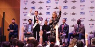 WWE Superstars host a Be A Star rally in Riyadh, Saudi Arabia